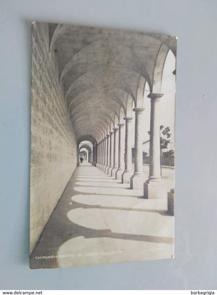 CARTOLINA CHIAVARI - PORTICI DI CORSO ASSAROTTI - Genova (Genoa)
