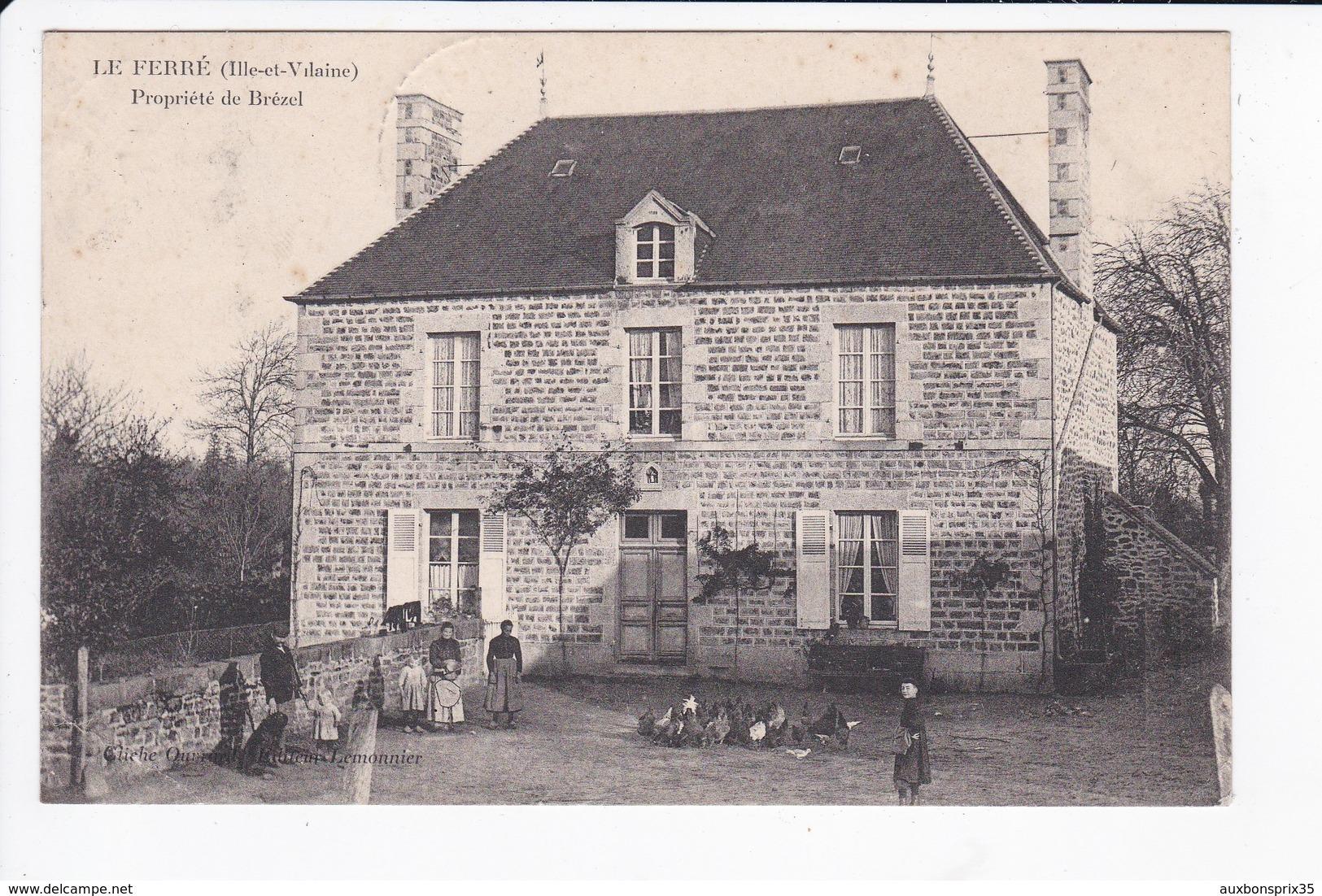 LE FERRE - PROPRIETE DE BREZEL - 35 - Autres Communes