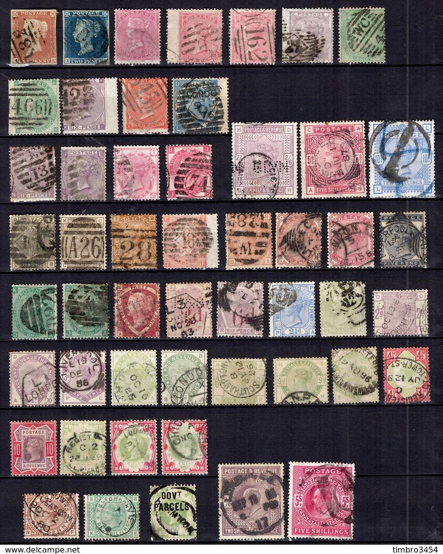 Grande-Bretagne Très Belle Collection De Classiques 1841/1900. Nombreuses Bonnes Valeurs. Très Forte Cote. A Saisir! - Grande-Bretagne