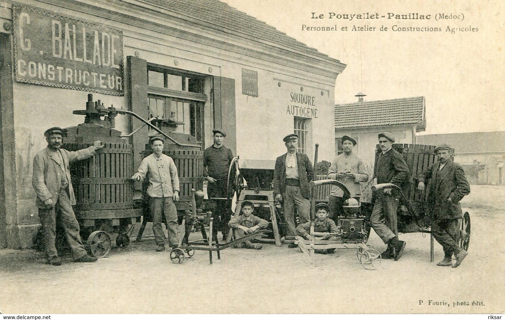 LE POUYALLET PAUILLAC(ATELIER AGRICOLE) - Pauillac