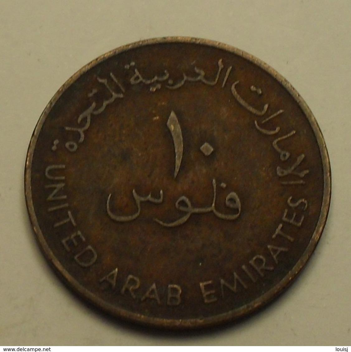 1973 - Emirats Arabes Unis - United Arab Emirates - 1393 - 10 FILS - KM 3.1 - Emirats Arabes Unis