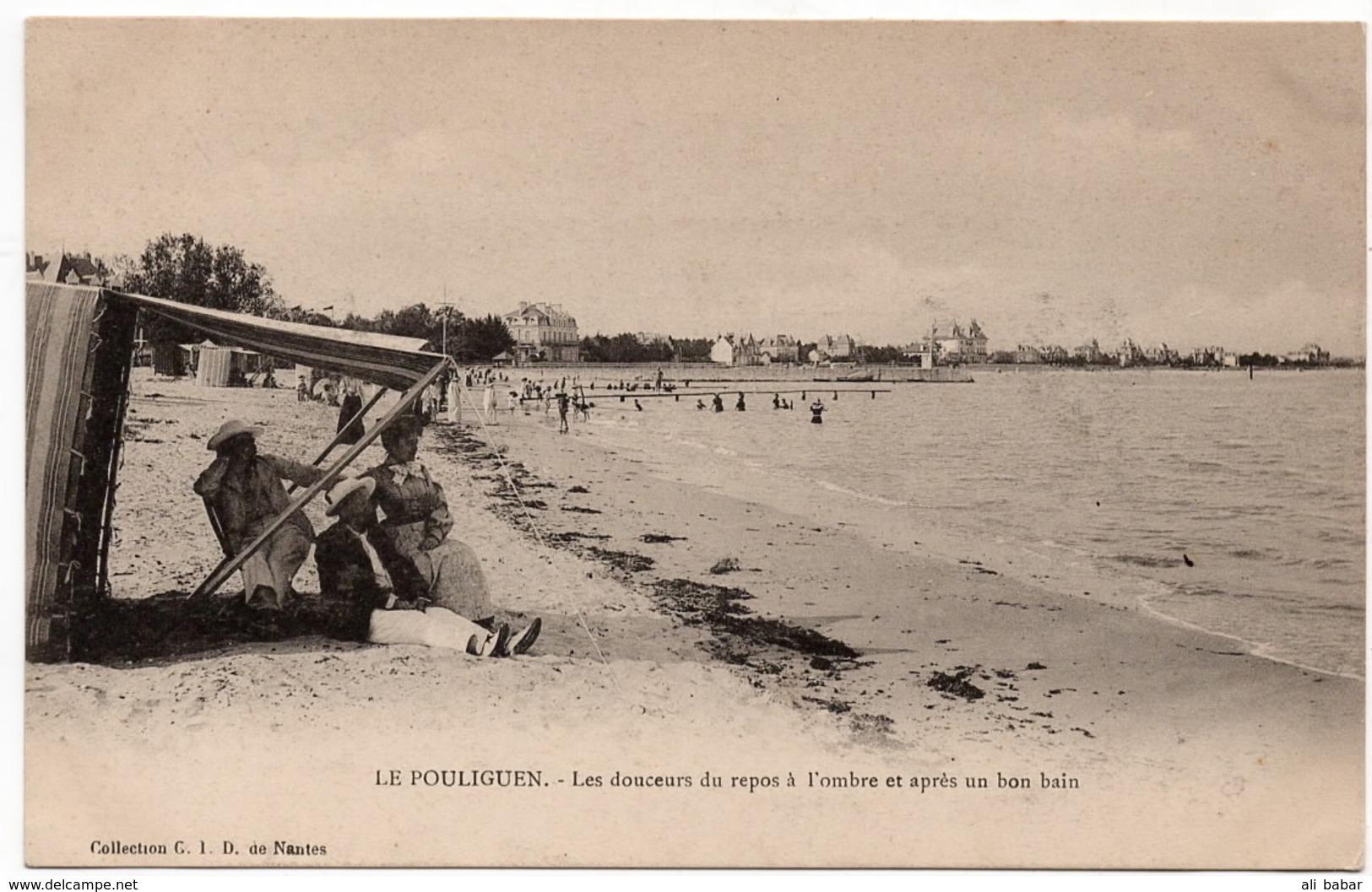 Le Pouliguen : Les Douceurs Du Repos (collection G.I.D., Nantes) - Le Pouliguen