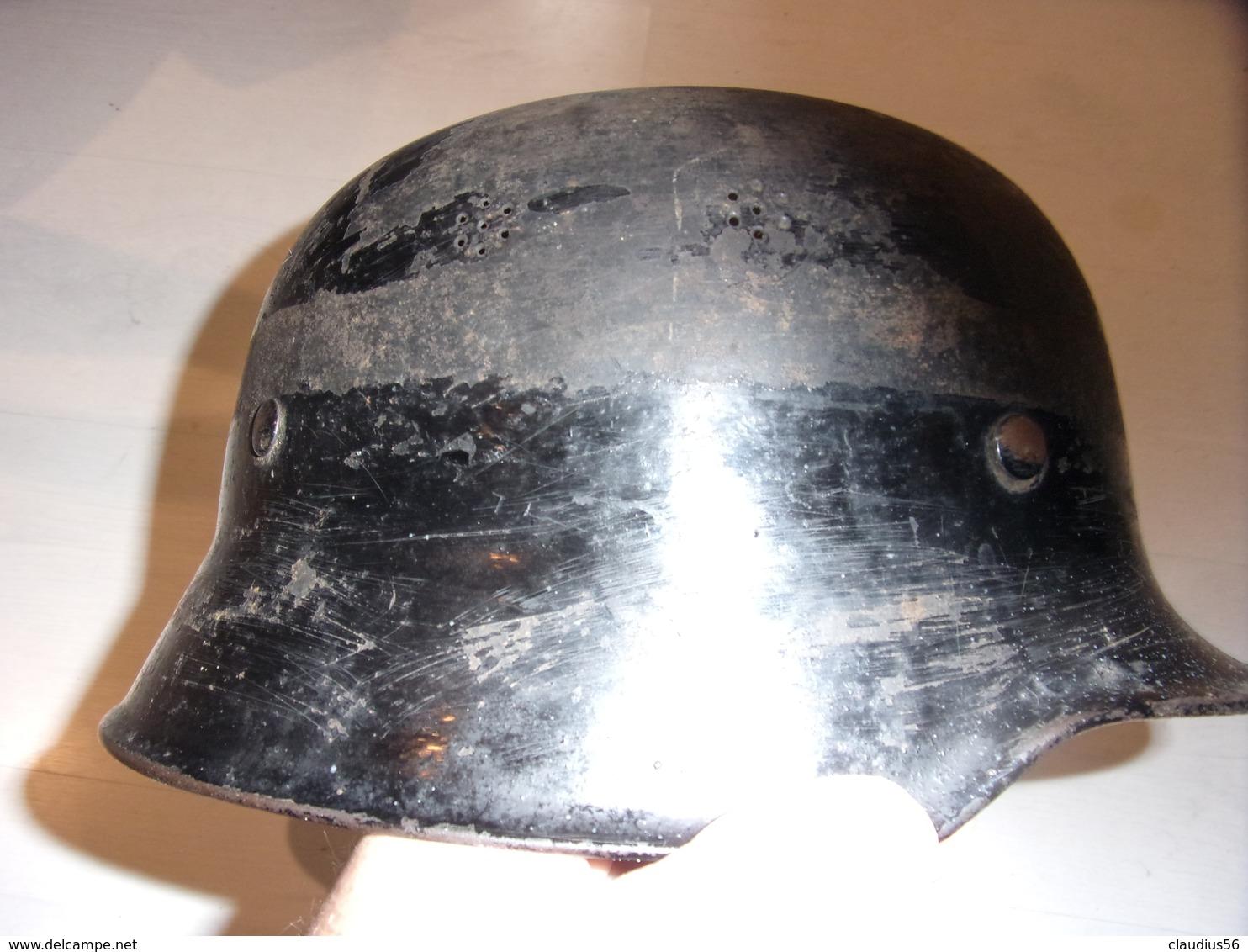 Casque M34 WW2 ALLEMAND - Casques & Coiffures