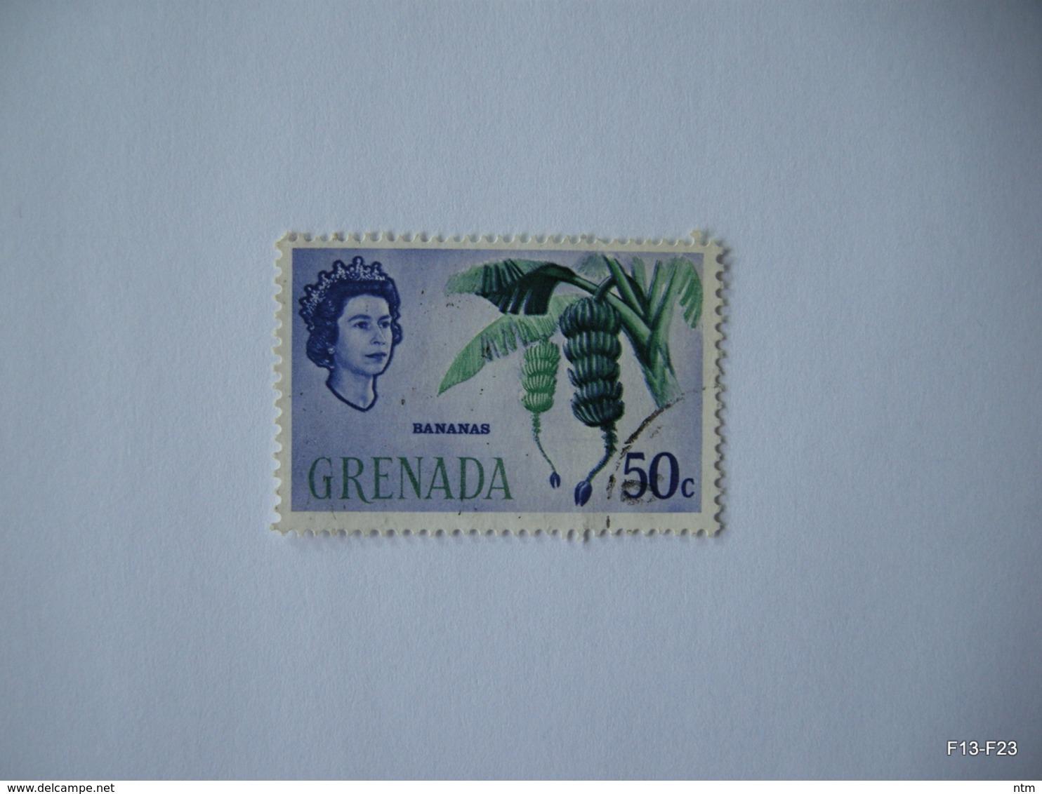 GRENADA 1966. Bananas. 50c. SG 242. Used. - Grenade (...-1974)