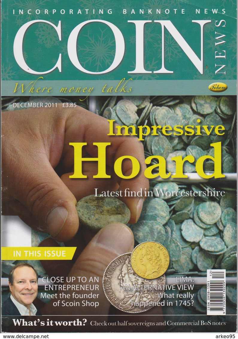 Revue Coin News, Décembre 2011 - Englisch
