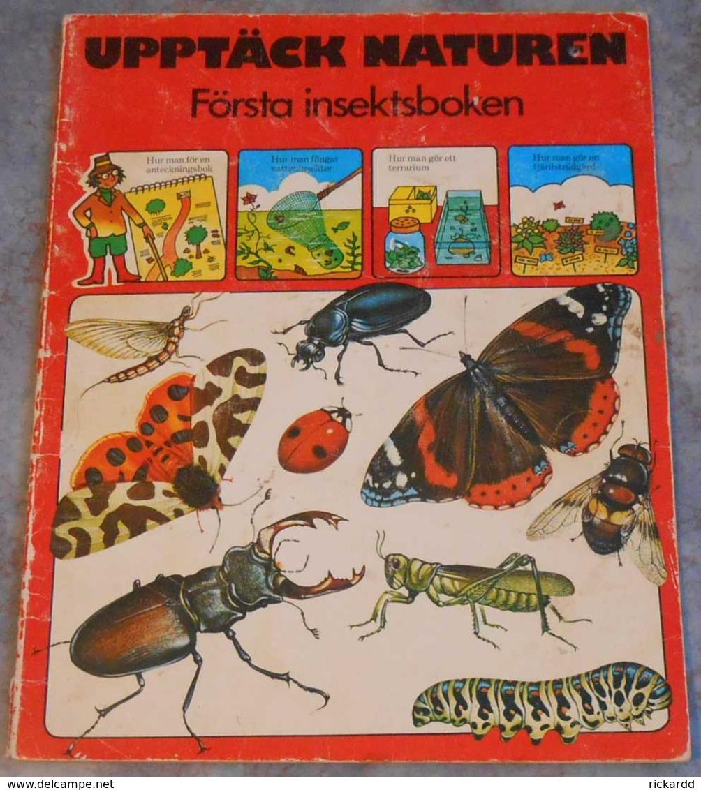 Upptäck Naturen - Första Insektsboken; Från 70-talet - Scandinavian Languages