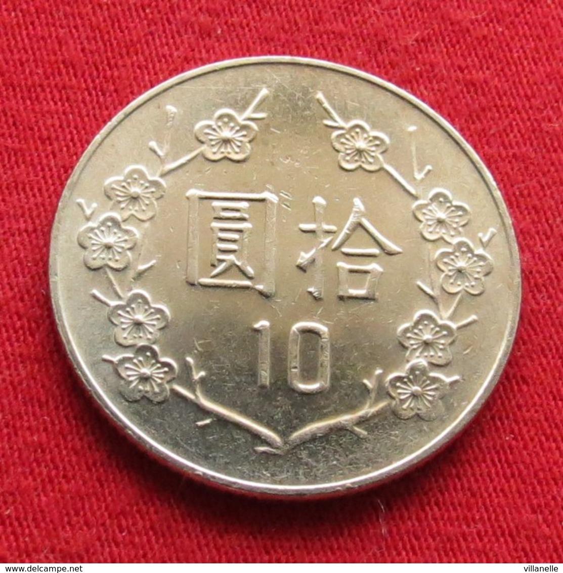 Taiwan 10 Yuan 2008 / 97 Y# 553  Lt 654  China Formosa Chine - Taiwan