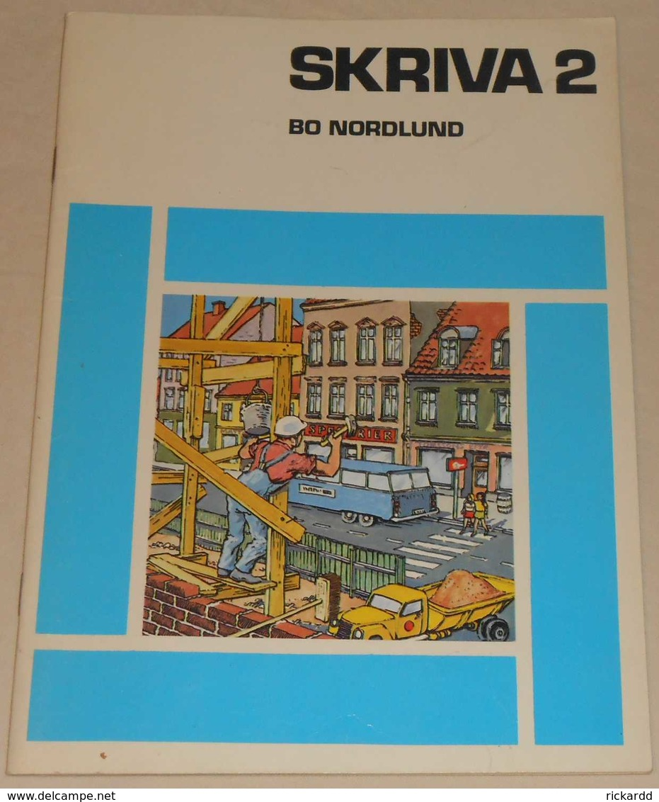 Skriva 2 Av Bo Nordlund; Från 70-talet - Books, Magazines, Comics