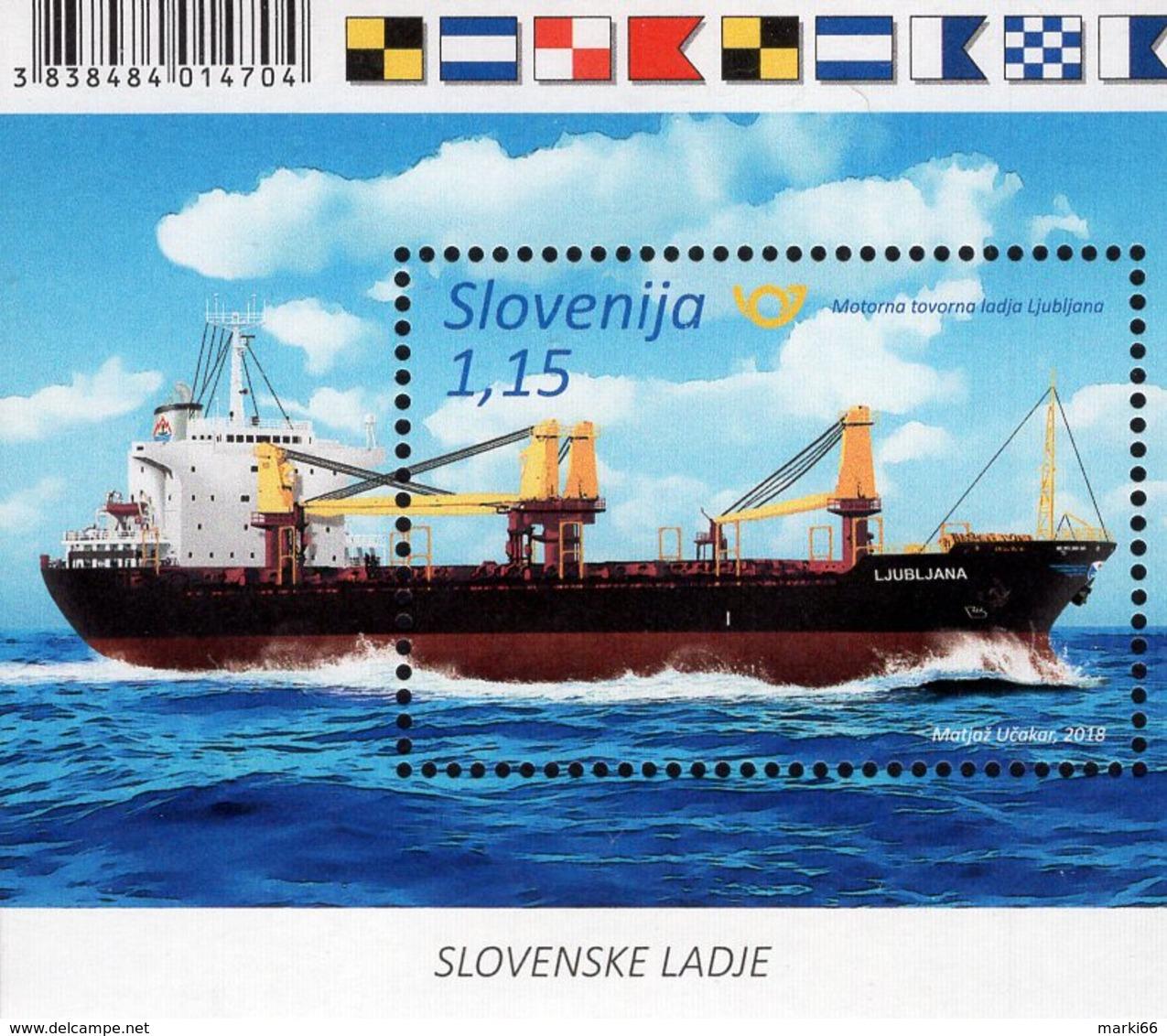 Slovenia - 2018 - Slovene Ships - Ljubljana - Mint Souvenir Sheet - Slovénie