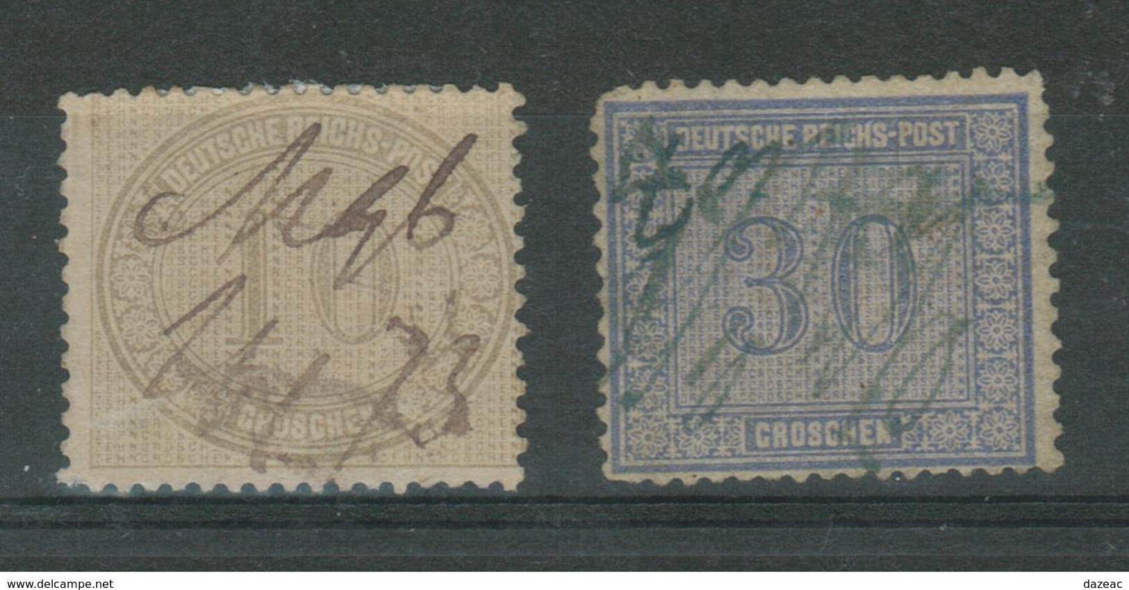 Duitse Rijk / Deutsches Reich DR 12 & 13 Used - Duitsland