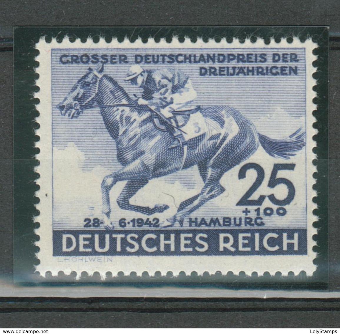 Duitse Rijk / Deutsches Reich DR 814 Postfrisch ** MNH - Duitsland