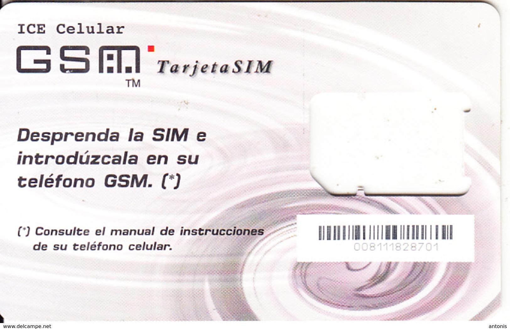 COSTA RICA - ICE Celular GSM, Used - Costa Rica