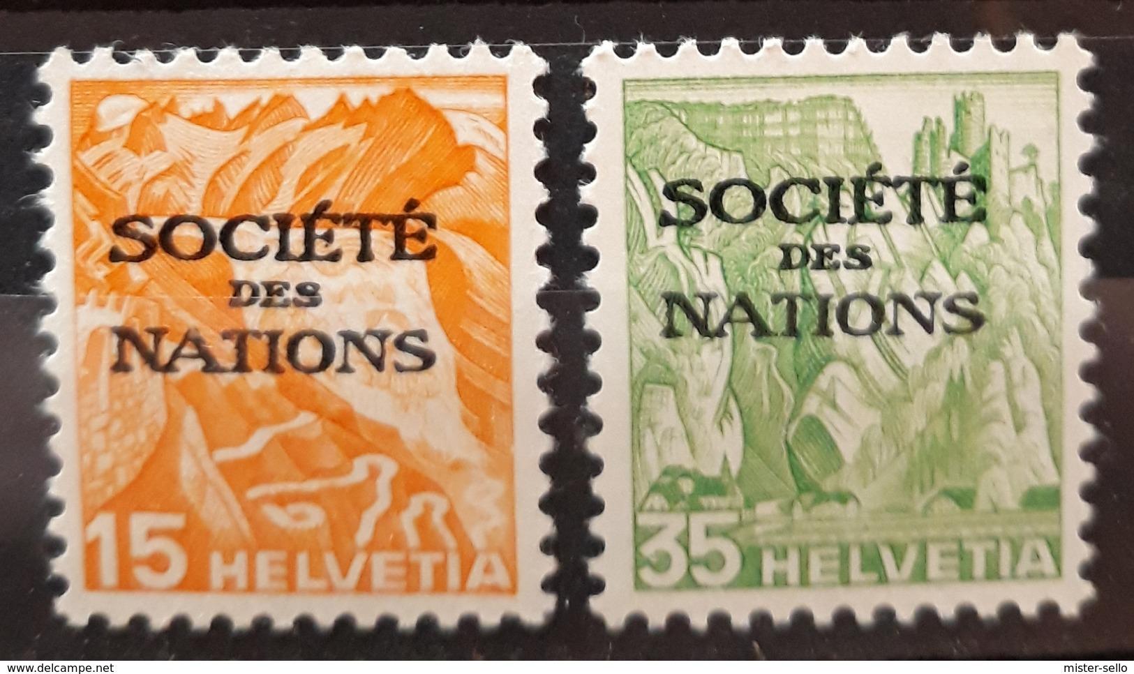 SUIZA. Oficial. Sociedad De Naciones. NUEVO - MNH. - Nuovi