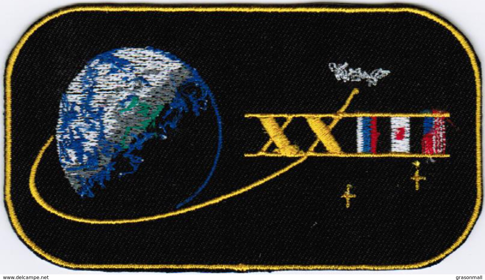 ISS Expedition 23 #NoWords International Space Station Iron On Patch - Patches