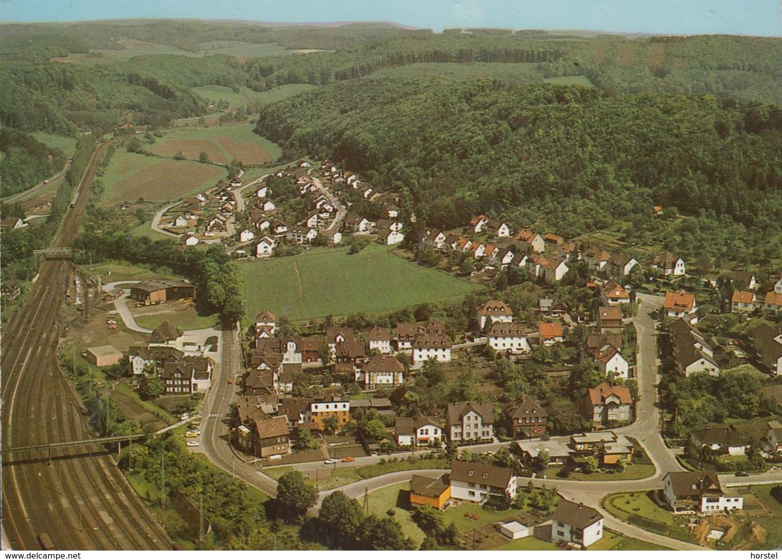 D-37547 Kreiensen - Luftaufnahme - Aerial View - Bahnanlagen - Railway - Bad Gandersheim