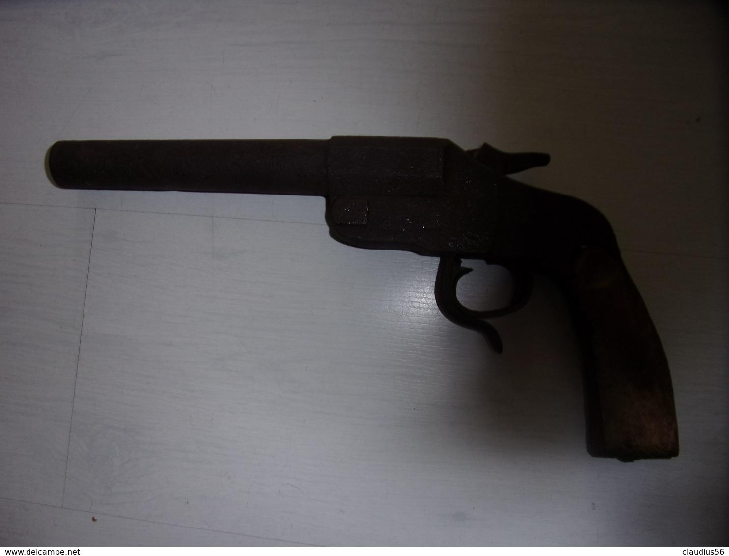 PISTOLET LANCE FUSE WWI HEBEL ALLEMAND  MODELE 1895 - Armes Neutralisées