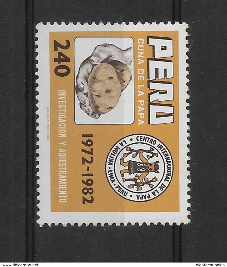 PERU 1982, POTATO STUDY CENTER, SC 780, 1 VALUE COMPLETE - Peru