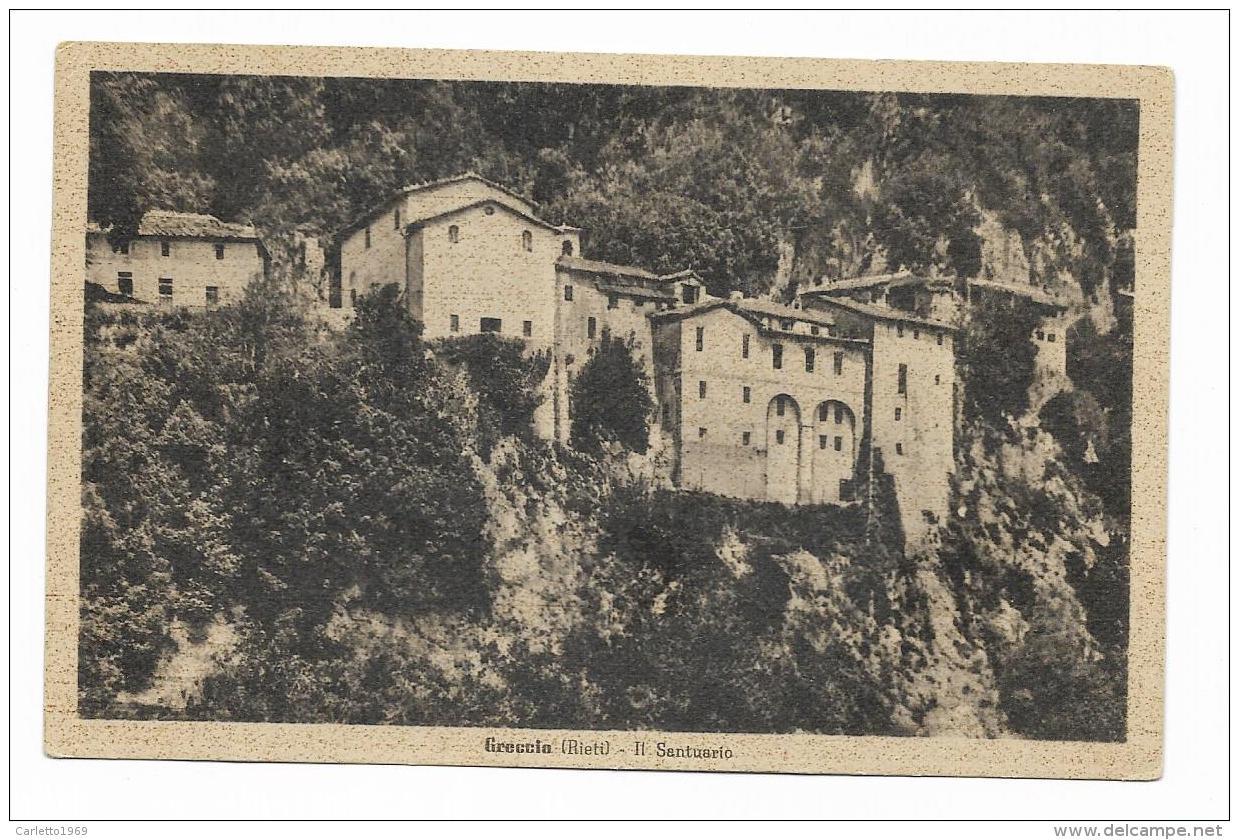 GRECCIO - IL SANTUARIO  - NV  FP - Rieti
