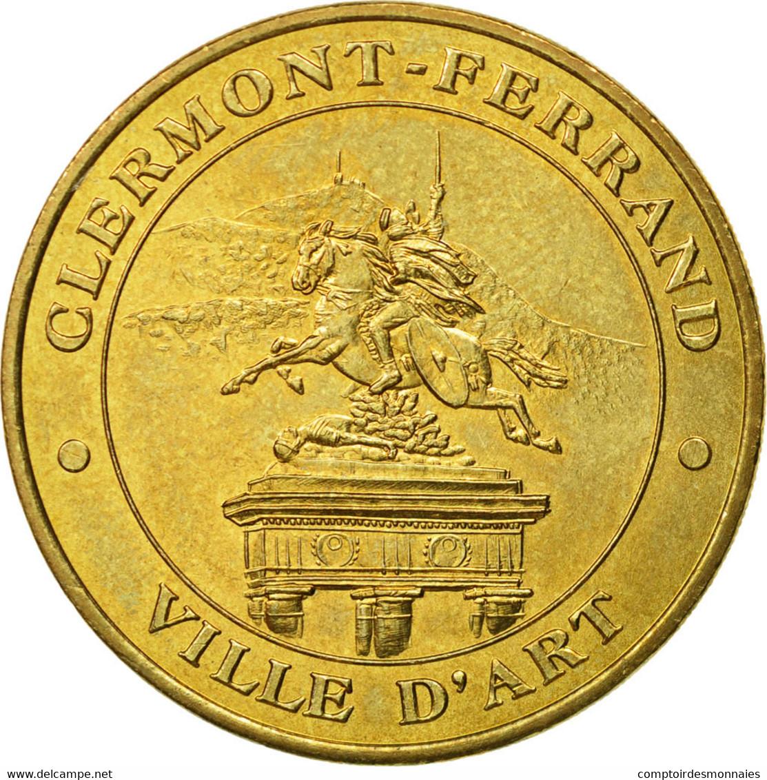France, Jeton, Jeton Touristique, 63/ Clermont-Ferrand - Ville D'Art, 2003, MDP - France