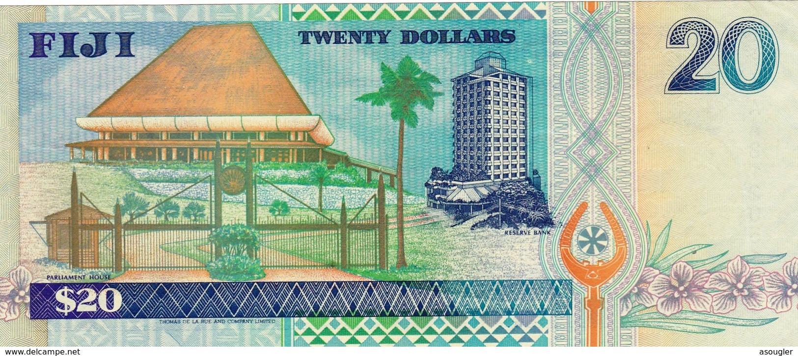 FIJI 20 DOLLARS ND 1996 UNC PREFIX AA P-99b (free Shipping Via Registered Air Mail) - Fidji