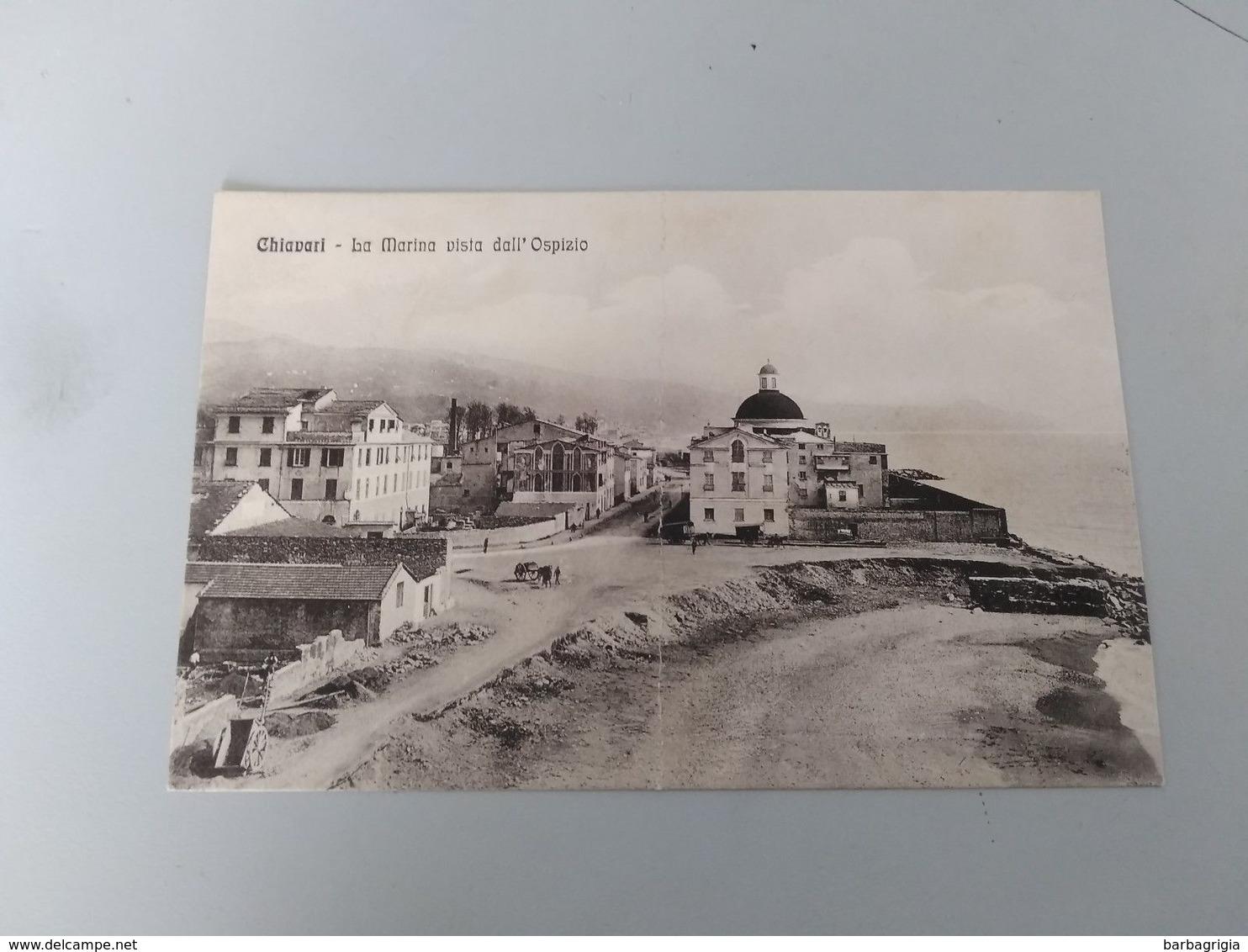 CARTOLINA CHIAVARI - LA MARINA VISTA DALL'OSPIZIO - Genova (Genoa)