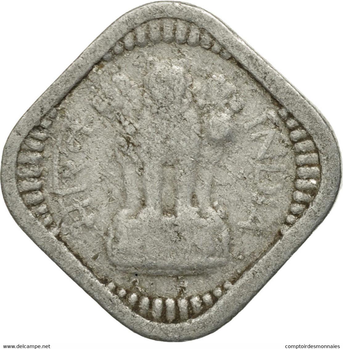 Monnaie, INDIA-REPUBLIC, 5 Paise, 1967, TB, Aluminium, KM:18.1 - Inde