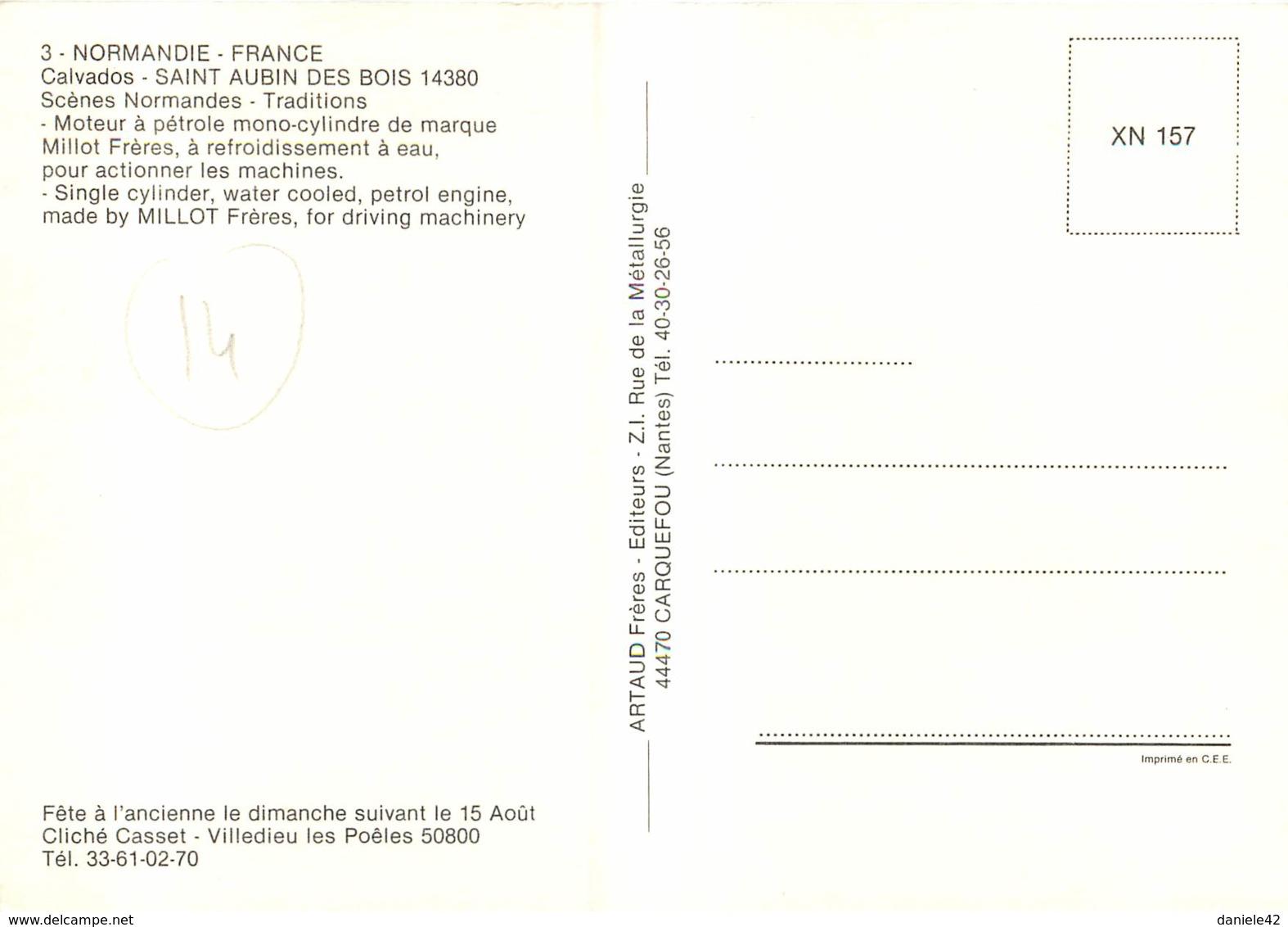 14 - SAINT AUBIN DES BOIS - France
