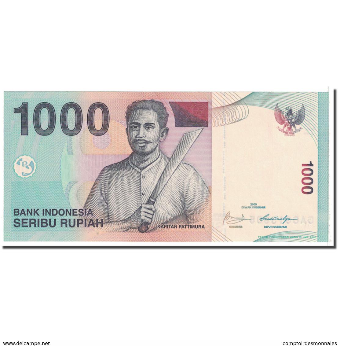 Billet, Indonésie, 1000 Rupiah, 2000, KM:141j, SPL - Indonésie