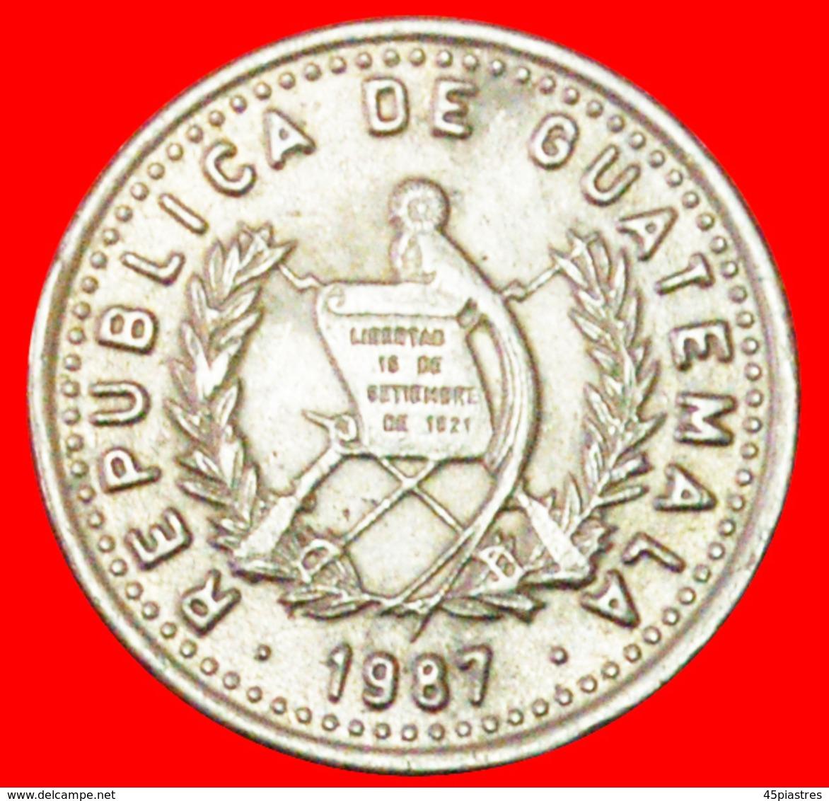 # BIRD (1977-2010): GUATEMALA ★ 5 CENTAVOS 1987! LOW START ★ NO RESERVE! - Guatemala