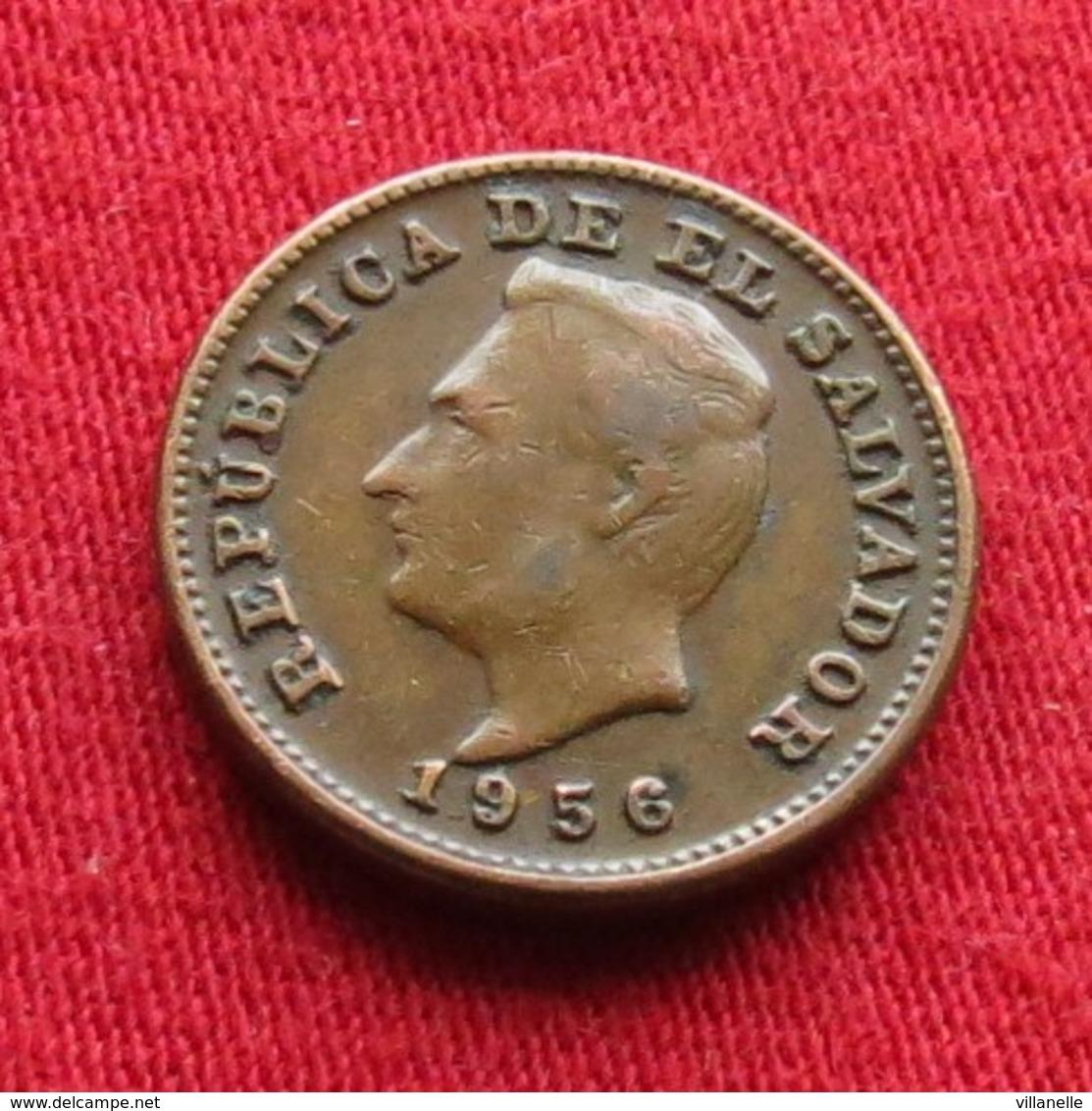 El Salvador 1 Centavo 1956 KM# 135.1 - Salvador