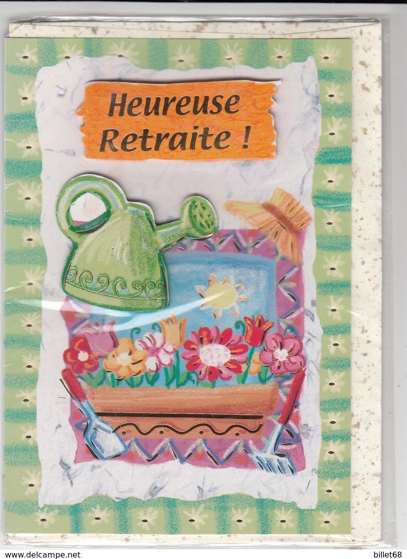 CARTE DE VOEUX - HEUREUSE RETRAITE - Non Ecrite - Fiestas & Eventos