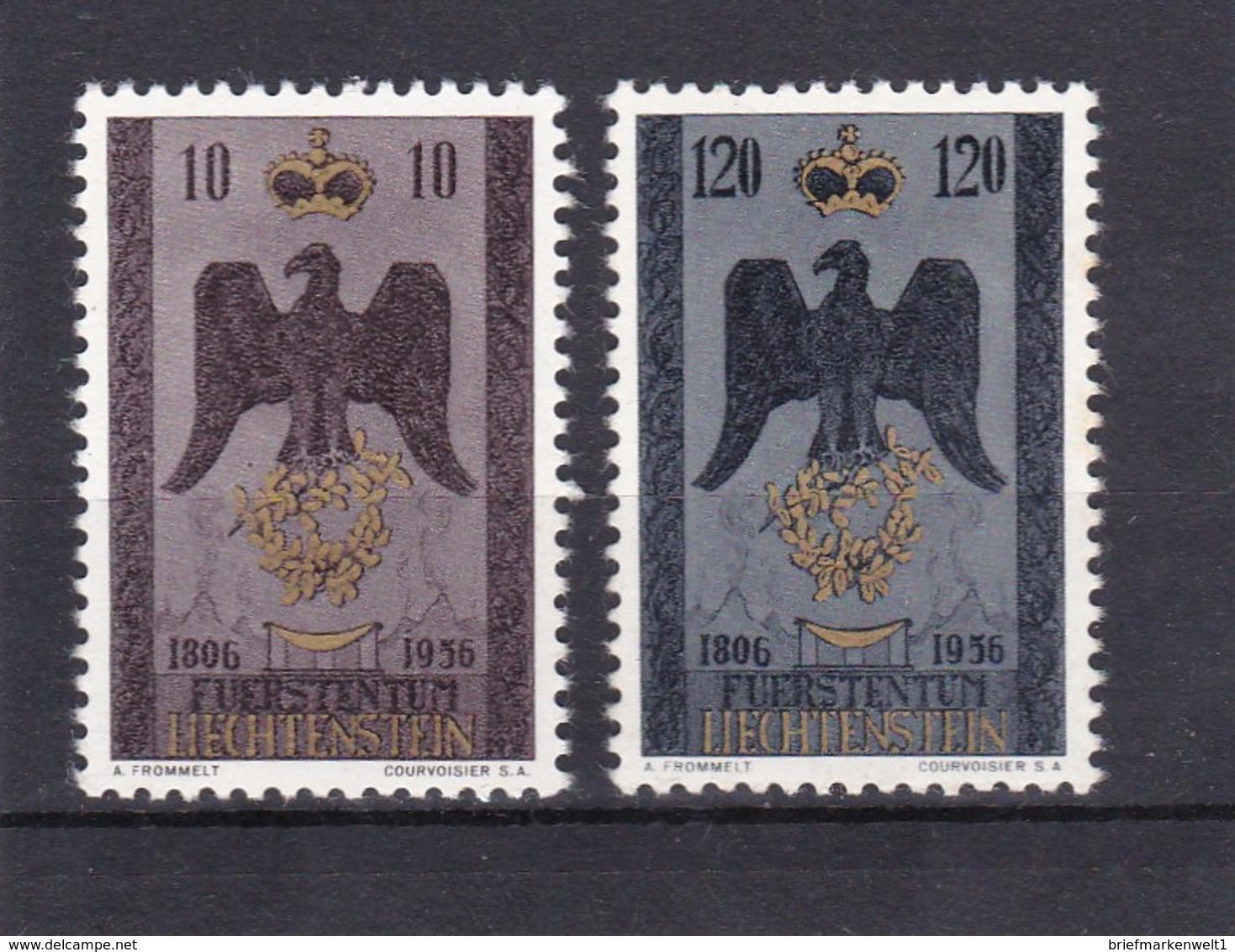 Liechtenstein, Nr. 346/47** (T 7508) - Liechtenstein