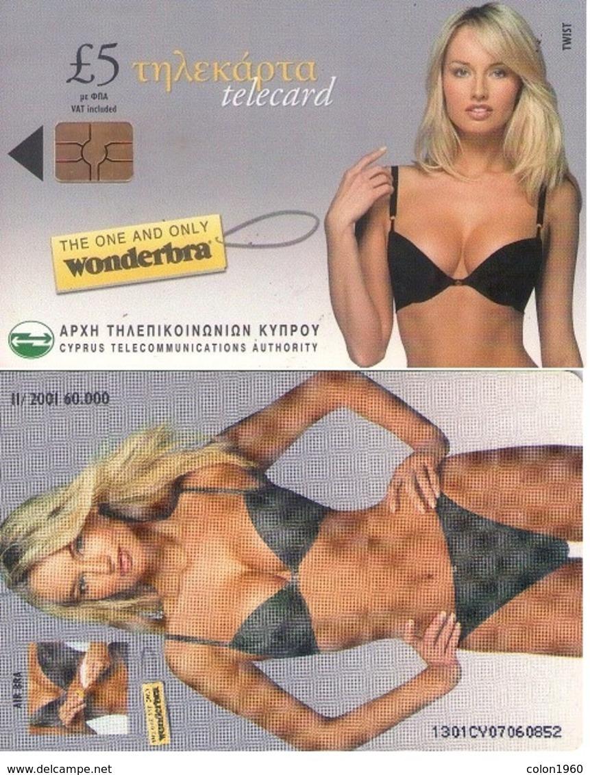 TARJETA TELEFONICA DE CHIPRE. (001) - Erótica (Adultos)