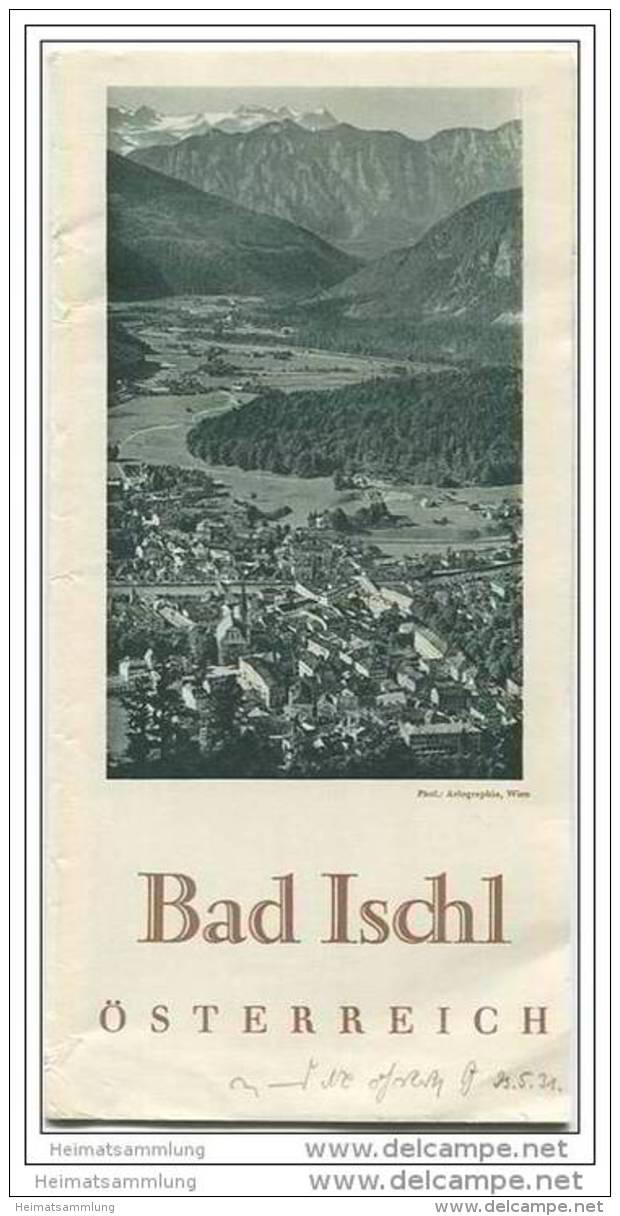 Bad Ischl 1931 - Faltblatt Mit 14 Abbildungen - Oesterreich
