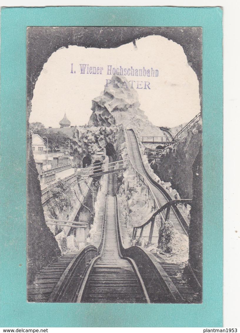 Old Postcard Of Hochschaubahn,Wiener Prater,Vienna,Austria ,S53. - Other