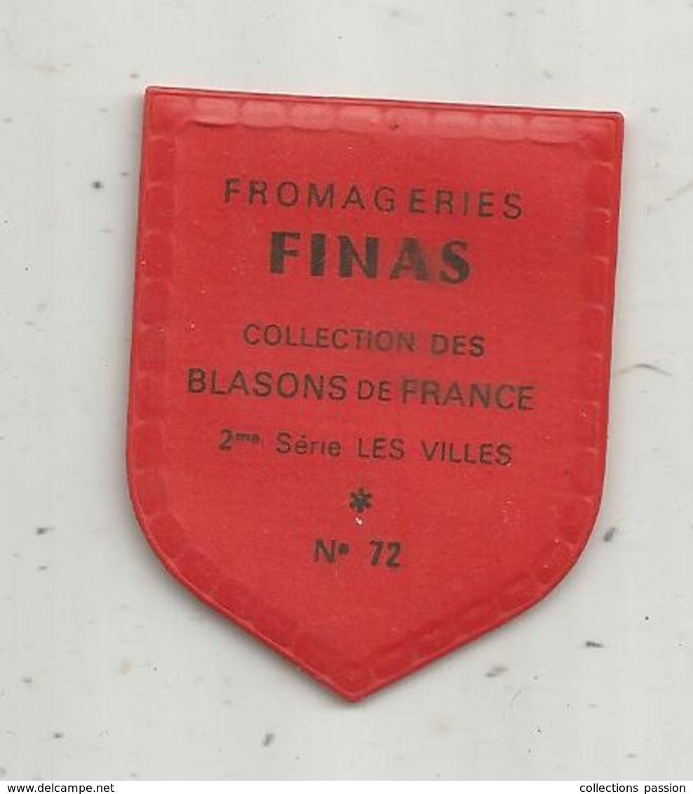 écusson Plastifié , Fromageries FINAS , Collection Des Blasons De France , 2 E Serie , Les Villes , N° 72, PERIGUEUX - Autres