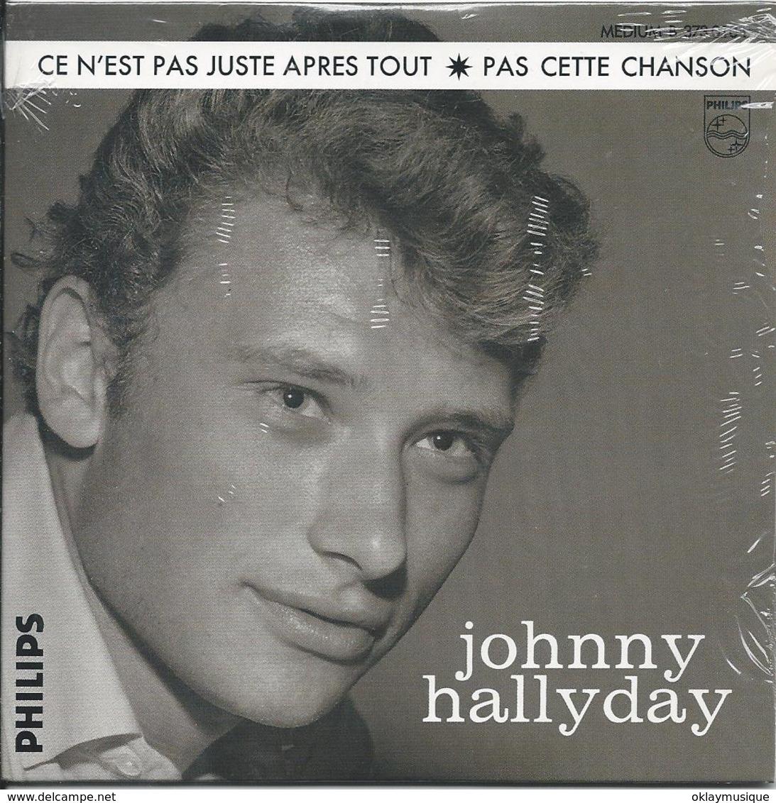 Single De Johnny Hallyday 1962  (pas Cette Chanson) - Musik & Instrumente