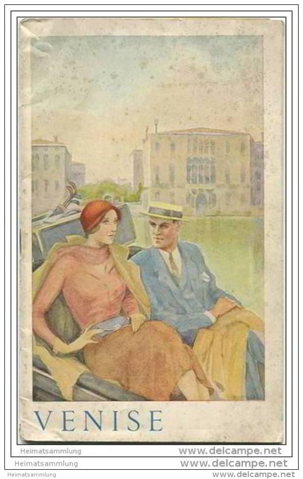 Venedig Venise 1935 - 36 Seiten Mit 33 Abbildungen - In Französischer Sprache - Reisen