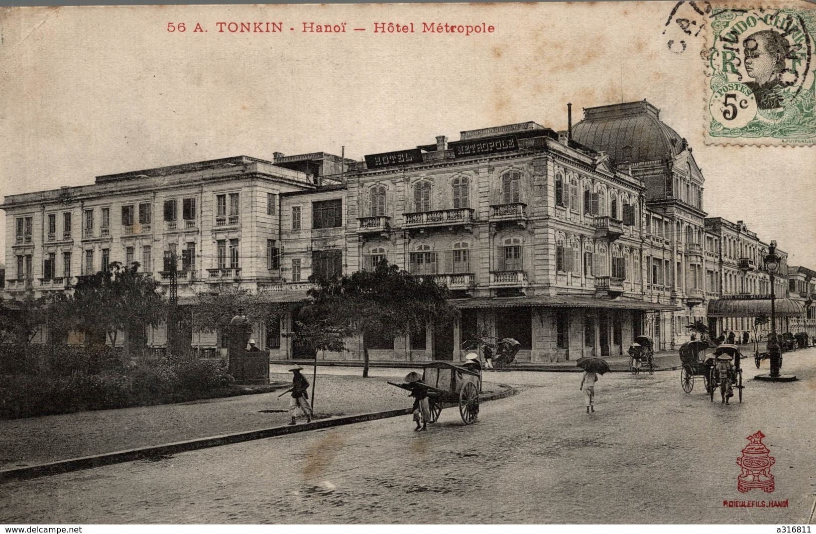 A.TONKIN HANOI HOTEL METROPOLE - Viêt-Nam