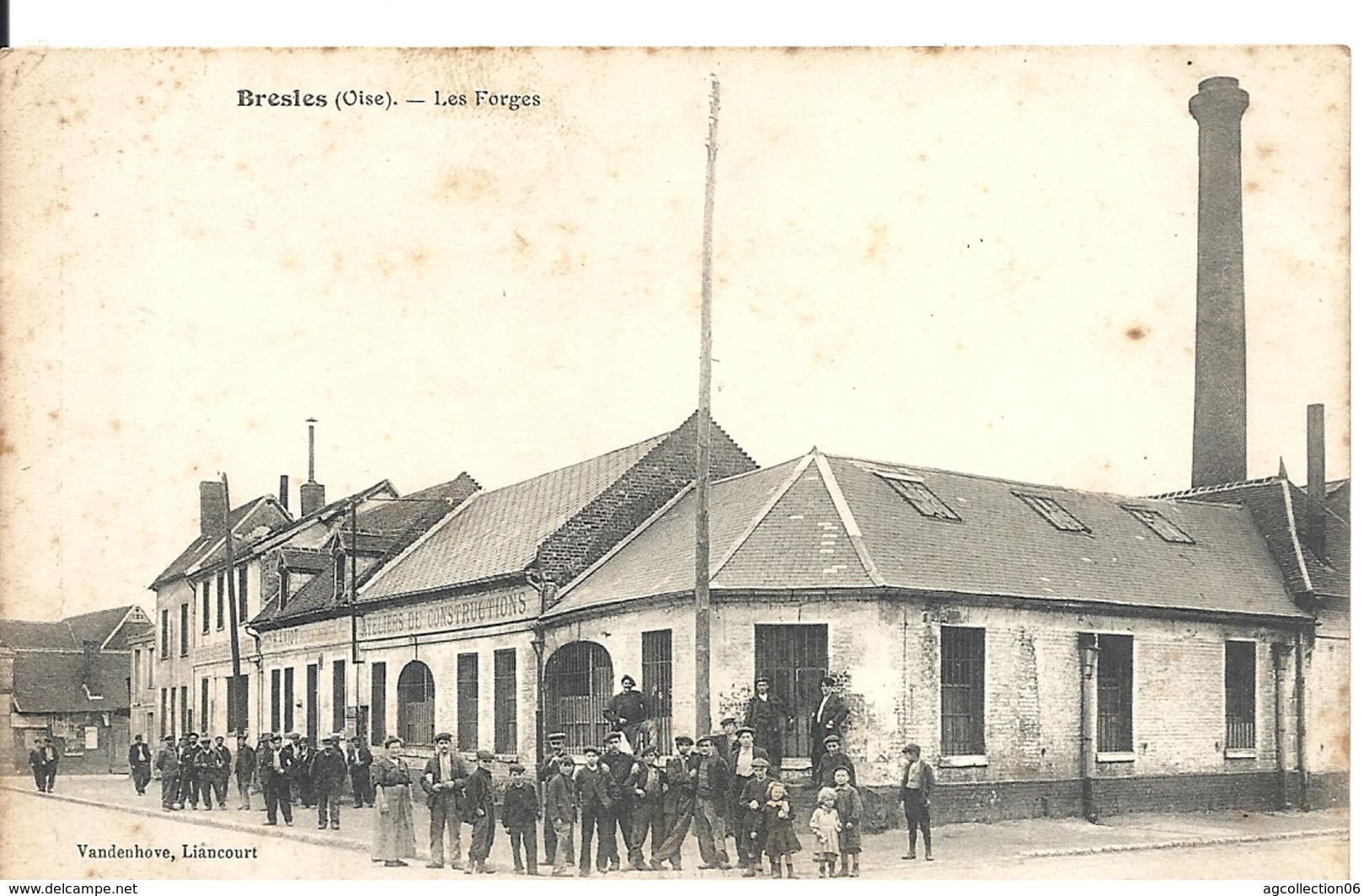 BRESLES. LES FORGES - France