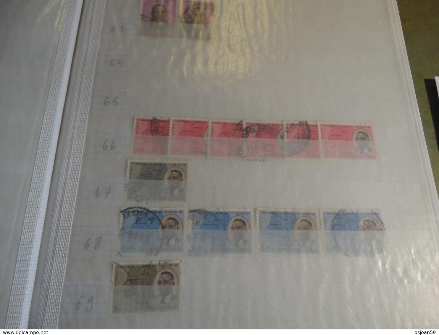 Restant De Collection Oblitérés........ - Stamps