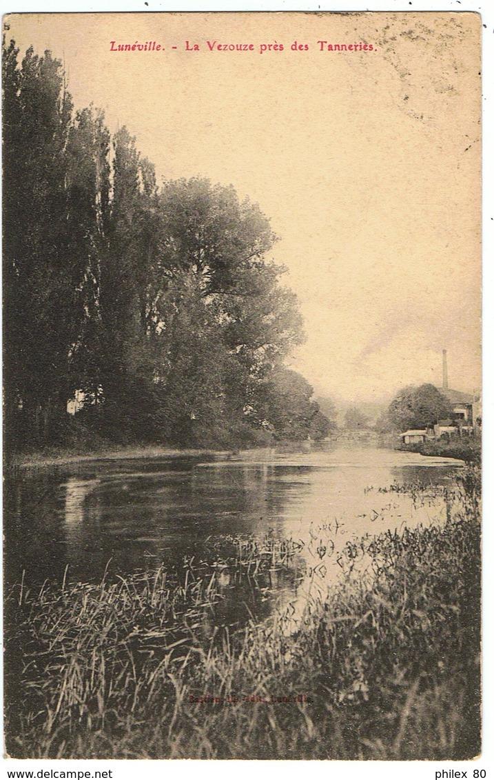 Lunéville / La Vezouze Près Des Tanneries / 1924 / Ed. Bastien - Luneville