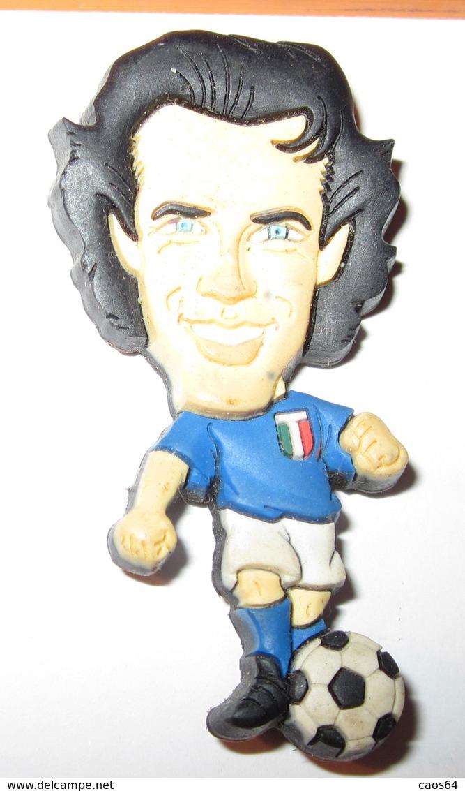 IP 2002 ITALIA AZZURRI DEL PIERO MAGNETE CALAMITA - Sport