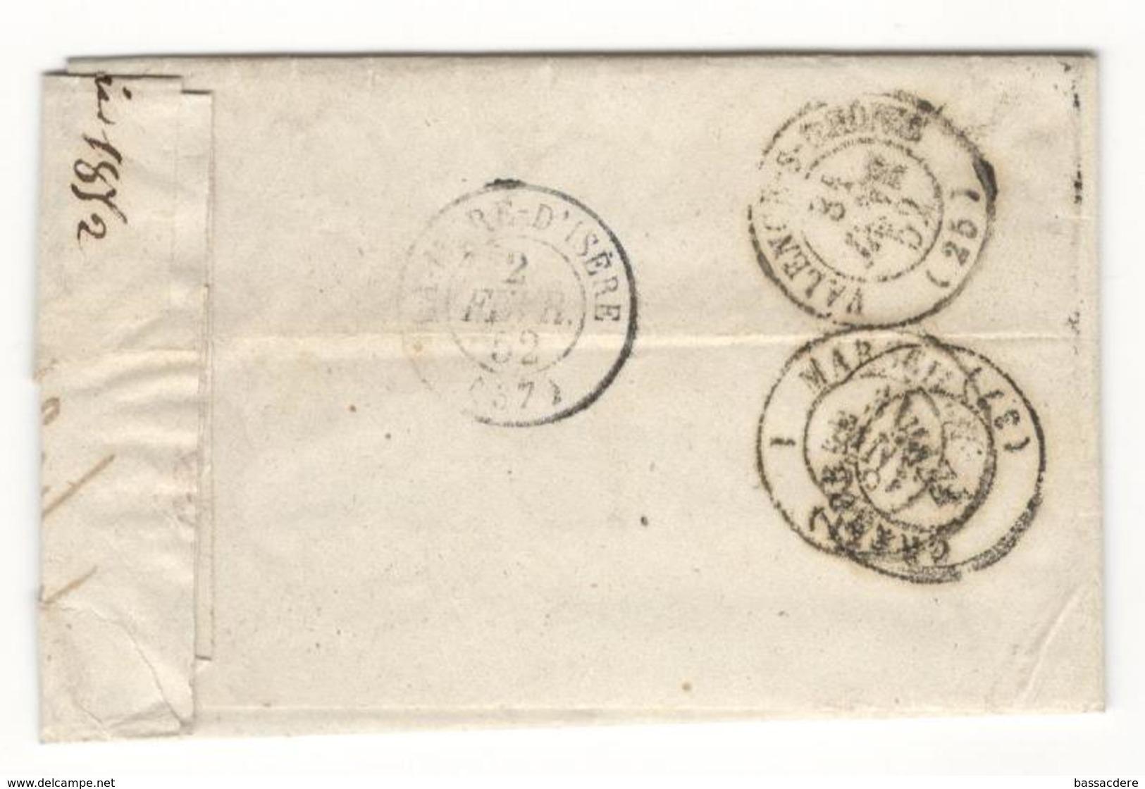 6138 - OLLIOULES - Storia Postale