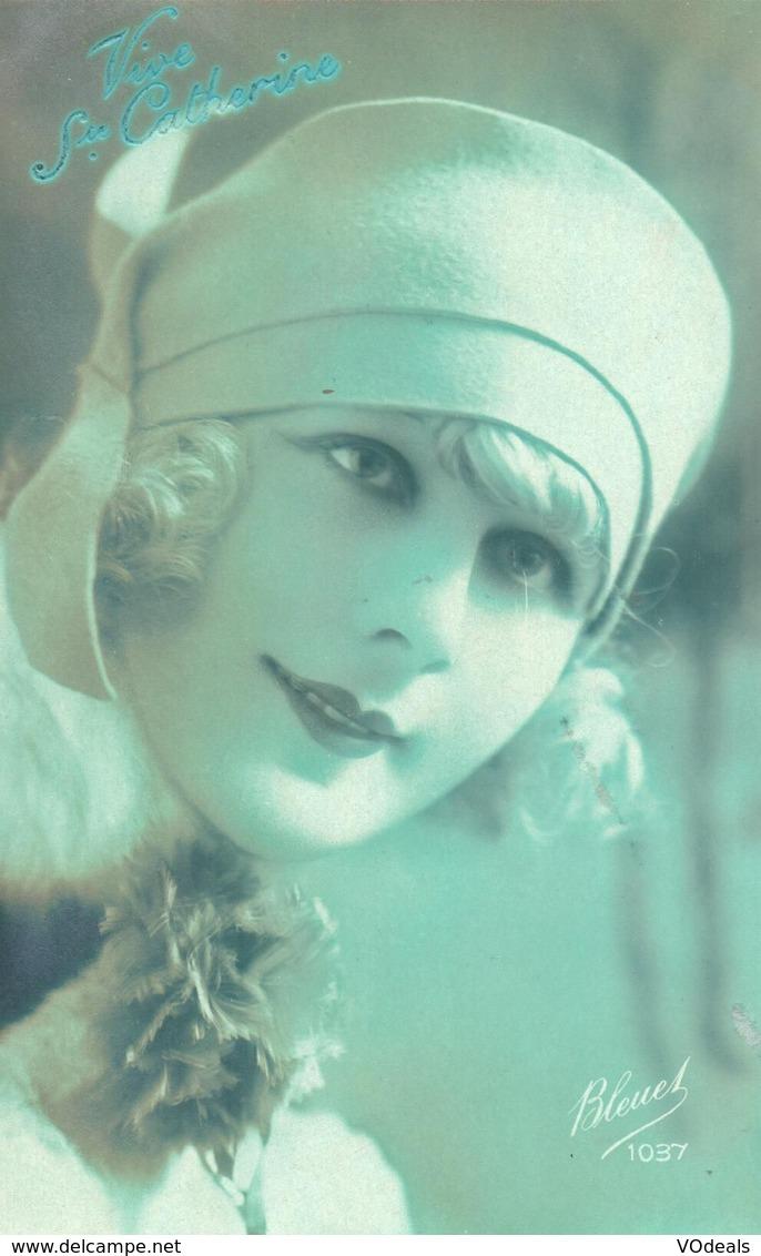 Thèmes - Fantaisies - Femmes - Portrait De Femme - Bleuet 1037 - Femmes