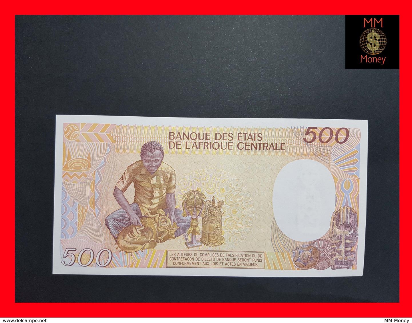 Central African Republic 500 Francs 1987 P. 14 UNC - Central African Republic