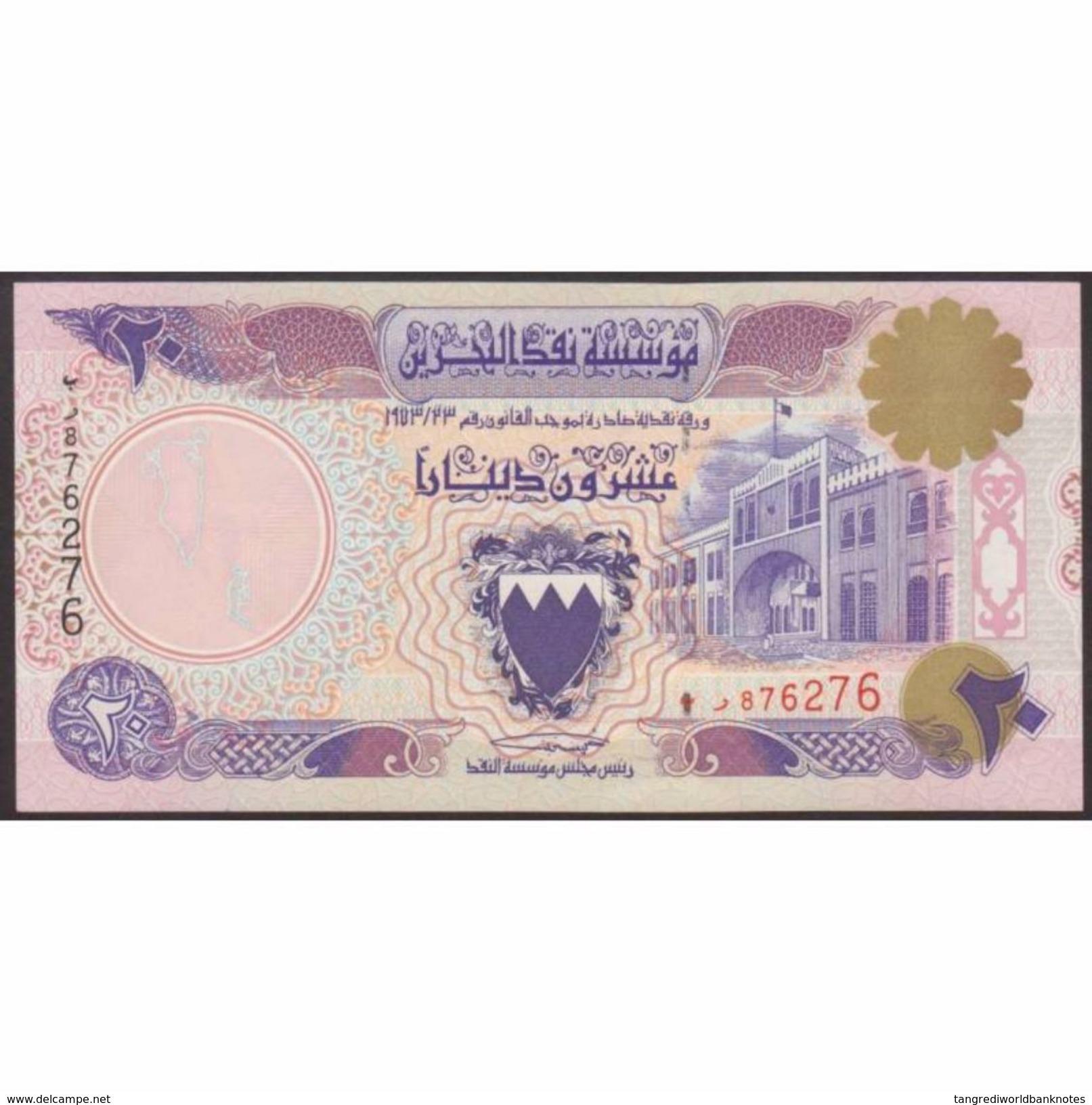 TWN - BAHRAIN 16x - 20 Dinars L.1973 (1993) Unauthorized Issue UNC - Bahrein