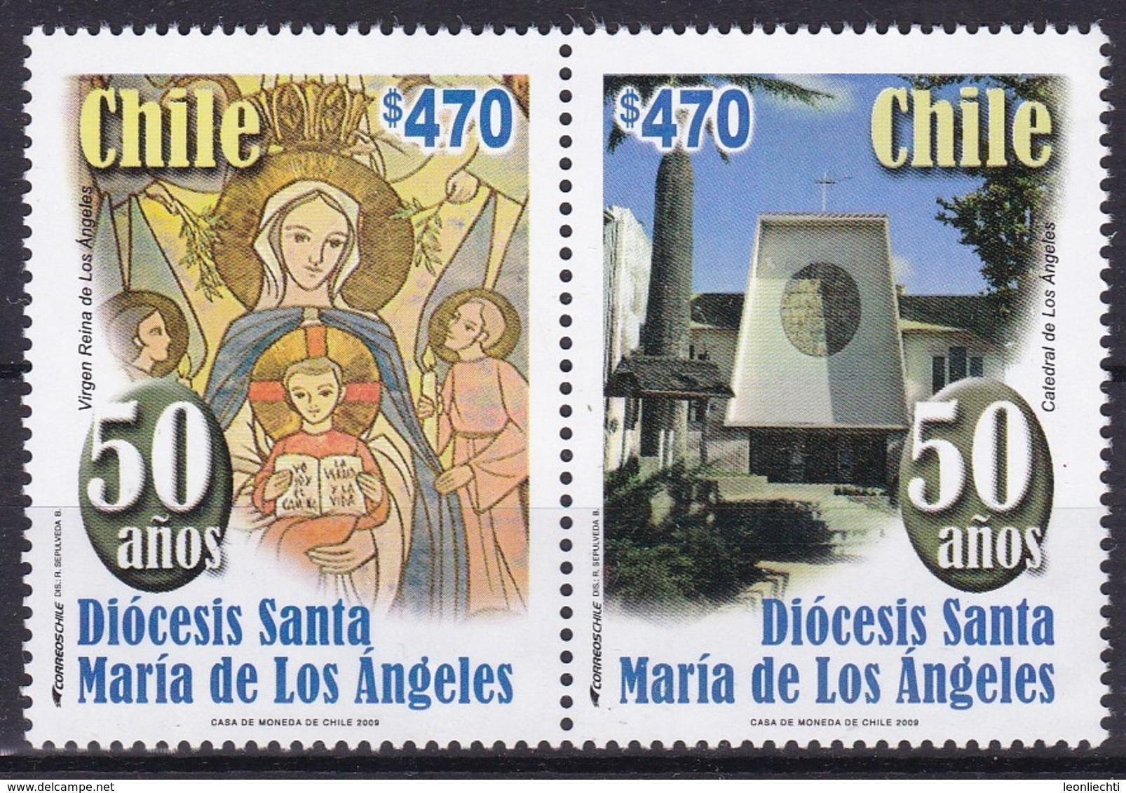 Chile 2009. Diocesis Santa Maria Des Los Angeles - Chili