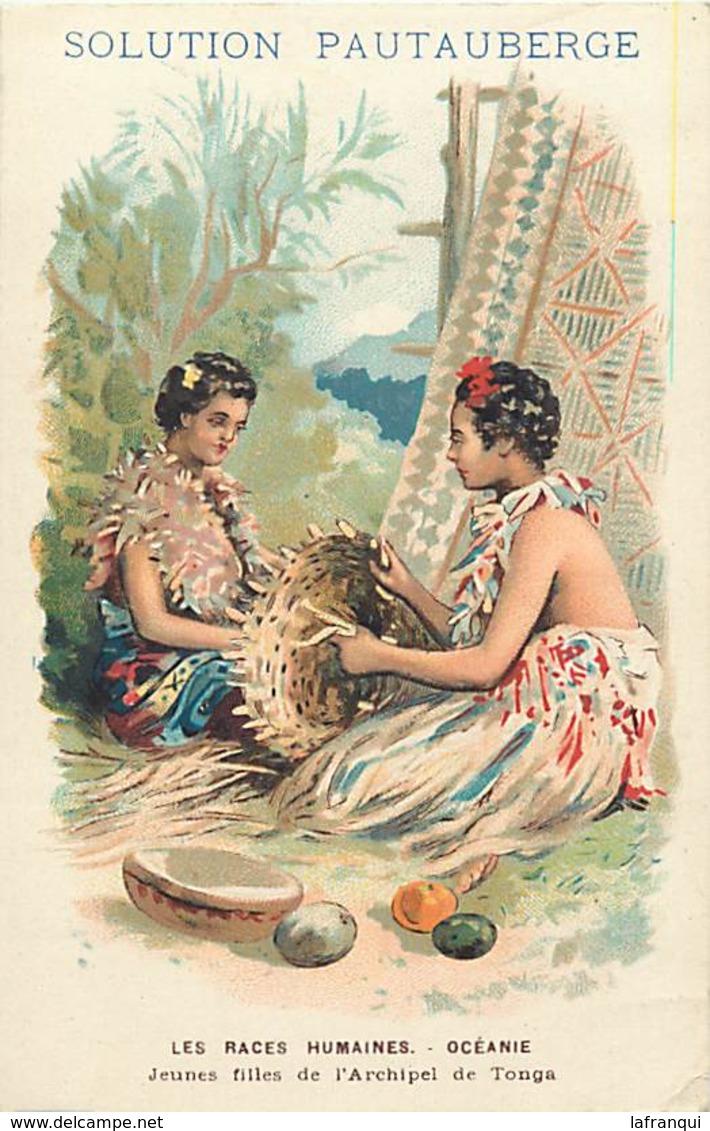 Pays Div : Ref M288- Santé - Publicité Solution Pautauberge -oceanie - Archipel De Tonga  - Carte Bon Etat - - Tonga