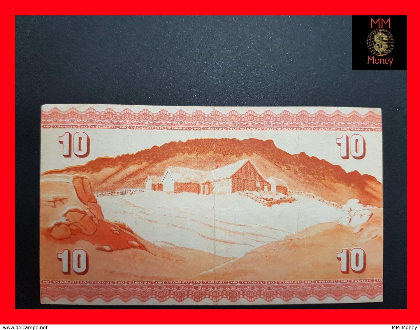 Faroe Islands 10 Kronur 1954 P. 14 VF+ - Faroe Islands